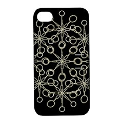 Ornate Chained Atrwork Apple Iphone 4/4s Hardshell Case With Stand by dflcprints