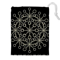 Ornate Chained Atrwork Drawstring Pouches (xxl) by dflcprints