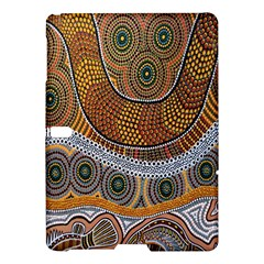 Aboriginal Traditional Pattern Samsung Galaxy Tab S (10 5 ) Hardshell Case  by Onesevenart