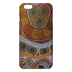 Aboriginal Traditional Pattern Iphone 6 Plus/6s Plus Tpu Case by Onesevenart