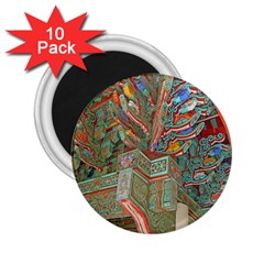 Traditional Korean Painted Paterns 2 25  Magnets (10 Pack)  by Onesevenart