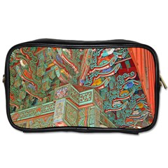 Traditional Korean Painted Paterns Toiletries Bags 2 Side by Onesevenart