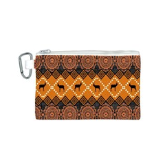 Traditiona  Patterns And African Patterns Canvas Cosmetic Bag (s) by Onesevenart