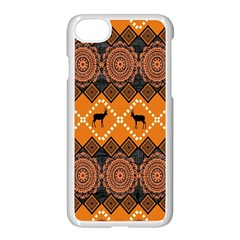 Traditiona  Patterns And African Patterns Apple Iphone 7 Seamless Case (white) by Onesevenart