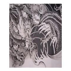 Chinese Dragon Tattoo Shower Curtain 60  X 72  (medium)  by Onesevenart