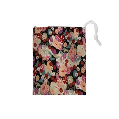 Japanese Ethnic Pattern Drawstring Pouches (small)