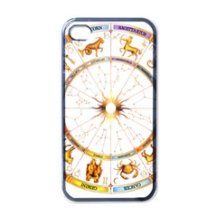Zodiac  Institute Of Vedic Astrology Apple Iphone 4 Case (black) by Onesevenart