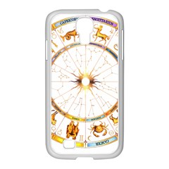 Zodiac  Institute Of Vedic Astrology Samsung Galaxy S4 I9500/ I9505 Case (white) by Onesevenart