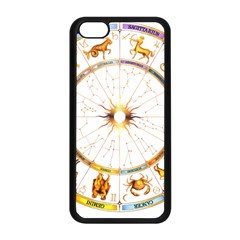 Zodiac  Institute Of Vedic Astrology Apple Iphone 5c Seamless Case (black) by Onesevenart
