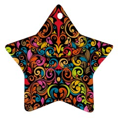 Art Traditional Pattern Ornament (star) by Onesevenart
