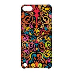 Art Traditional Pattern Apple Ipod Touch 5 Hardshell Case With Stand by Onesevenart