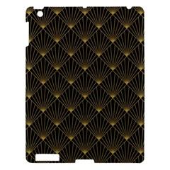 Abstract Stripes Pattern Apple Ipad 3/4 Hardshell Case by Onesevenart