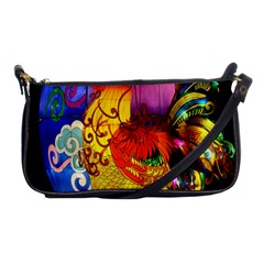 Chinese Zodiac Signs Shoulder Clutch Bags by Onesevenart