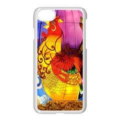 Chinese Zodiac Signs Apple Iphone 7 Seamless Case (white) by Onesevenart