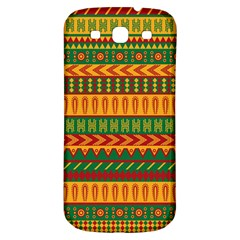 Mexican Pattern Samsung Galaxy S3 S Iii Classic Hardshell Back Case by Onesevenart