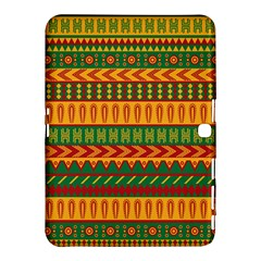Mexican Pattern Samsung Galaxy Tab 4 (10 1 ) Hardshell Case  by Onesevenart