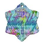 Drake 1 800 Hotline Bling Ornament (Snowflake)