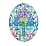 Drake 1 800 Hotline Bling Ornament (Oval Filigree)