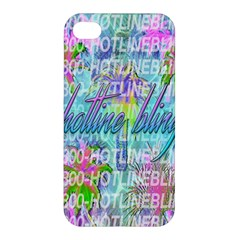 Drake 1 800 Hotline Bling Apple Iphone 4/4s Hardshell Case by Onesevenart