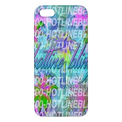 Drake 1 800 Hotline Bling Apple Iphone 5 Premium Hardshell Case by Onesevenart