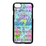 Drake 1 800 Hotline Bling Apple iPhone 7 Seamless Case (Black)