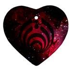 Bassnectar Galaxy Nebula Ornament (Heart)
