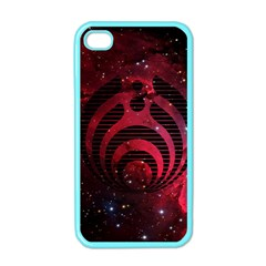 Bassnectar Galaxy Nebula Apple Iphone 4 Case (color) by Onesevenart