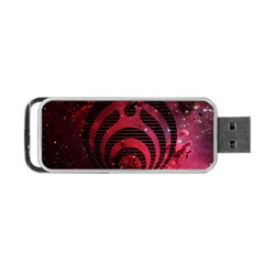 Bassnectar Galaxy Nebula Portable Usb Flash (one Side) by Onesevenart