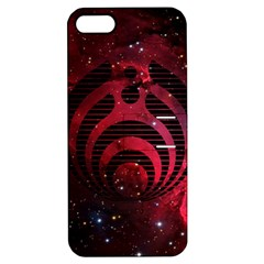 Bassnectar Galaxy Nebula Apple Iphone 5 Hardshell Case With Stand by Onesevenart