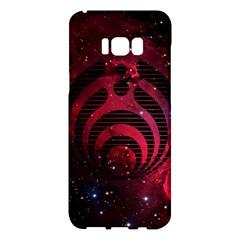 Bassnectar Galaxy Nebula Samsung Galaxy S8 Plus Hardshell Case  by Onesevenart