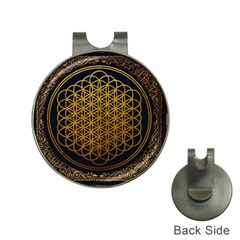 Bring Me The Horizon Cover Album Gold Hat Clips With Golf Markers by Onesevenart