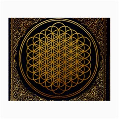 Bring Me The Horizon Cover Album Gold Small Glasses Cloth by Onesevenart