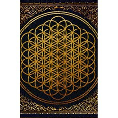 Bring Me The Horizon Cover Album Gold 5 5  X 8 5  Notebooks by Onesevenart