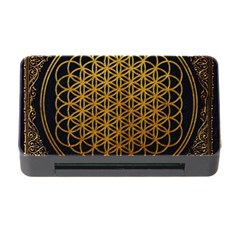 Bring Me The Horizon Cover Album Gold Memory Card Reader With Cf by Onesevenart