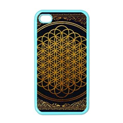 Bring Me The Horizon Cover Album Gold Apple Iphone 4 Case (color) by Onesevenart