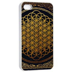 Bring Me The Horizon Cover Album Gold Apple Iphone 4/4s Seamless Case (white) by Onesevenart