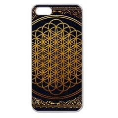 Bring Me The Horizon Cover Album Gold Apple Seamless Iphone 5 Case (clear) by Onesevenart