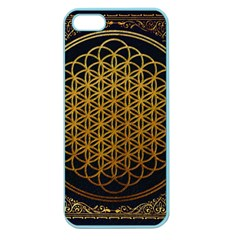 Bring Me The Horizon Cover Album Gold Apple Seamless Iphone 5 Case (color) by Onesevenart