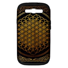Bring Me The Horizon Cover Album Gold Samsung Galaxy S Iii Hardshell Case (pc+silicone) by Onesevenart