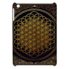Bring Me The Horizon Cover Album Gold Apple Ipad Mini Hardshell Case by Onesevenart