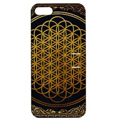 Bring Me The Horizon Cover Album Gold Apple Iphone 5 Hardshell Case With Stand by Onesevenart