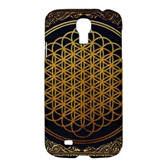 Bring Me The Horizon Cover Album Gold Samsung Galaxy S4 I9500/i9505 Hardshell Case by Onesevenart