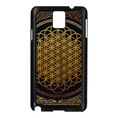 Bring Me The Horizon Cover Album Gold Samsung Galaxy Note 3 N9005 Case (black) by Onesevenart