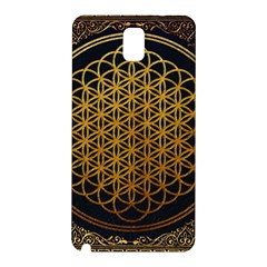 Bring Me The Horizon Cover Album Gold Samsung Galaxy Note 3 N9005 Hardshell Back Case by Onesevenart