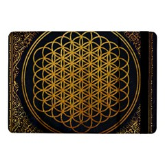 Bring Me The Horizon Cover Album Gold Samsung Galaxy Tab Pro 10 1  Flip Case by Onesevenart