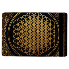 Bring Me The Horizon Cover Album Gold Ipad Air 2 Flip by Onesevenart