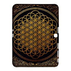 Bring Me The Horizon Cover Album Gold Samsung Galaxy Tab 4 (10 1 ) Hardshell Case  by Onesevenart
