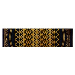 Bring Me The Horizon Cover Album Gold Satin Scarf (oblong) by Onesevenart