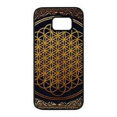 Bring Me The Horizon Cover Album Gold Samsung Galaxy S7 Edge Black Seamless Case by Onesevenart