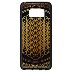 Bring Me The Horizon Cover Album Gold Samsung Galaxy S8 Black Seamless Case by Onesevenart